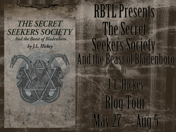 The Secret Seekers Society and the Beast of Bladenboro Blog Tour Banner